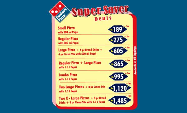 Dominos Pizza Number Lahore Menu Deals Location Offers 2016