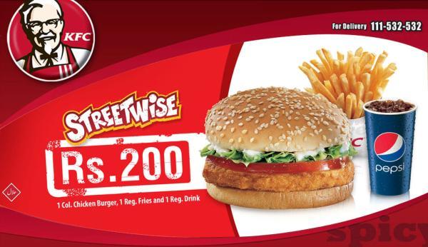 KFC Deals, Order Menu & Vouchers