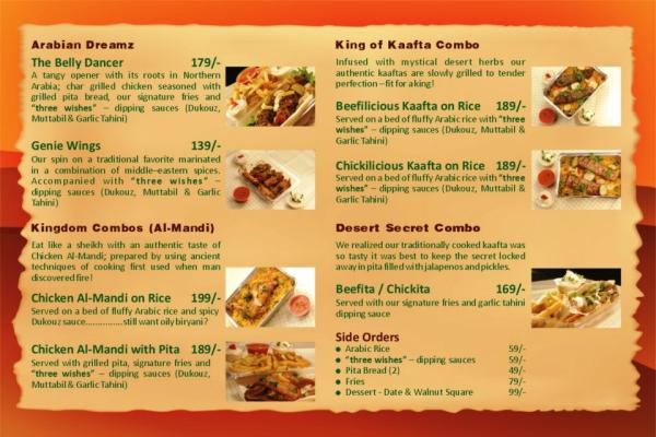 Arab Connection Restaurant Number Karachi - Menu, Deals