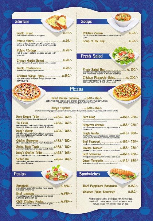 Pizza Kinng Restaurant Number Karachi Menu Deals
