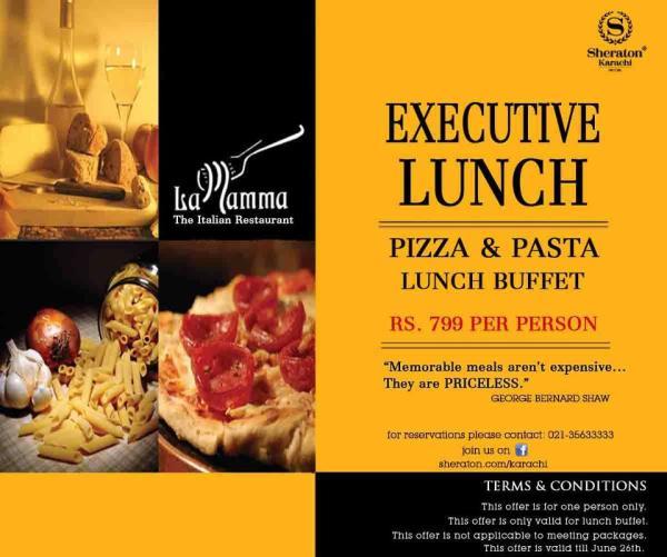 buffet restaurants in karachi