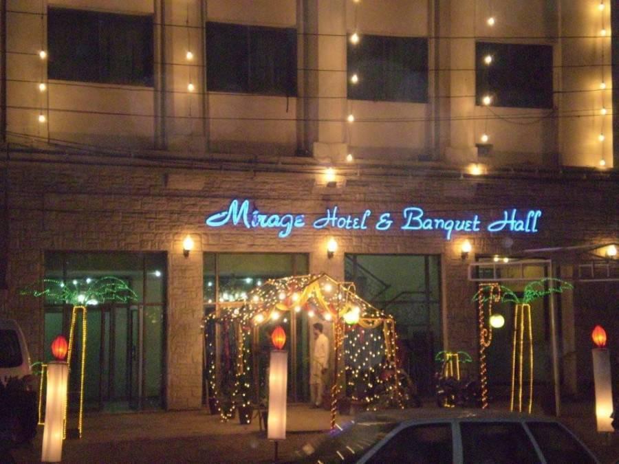 Mirage Hotel & Banquet Halls