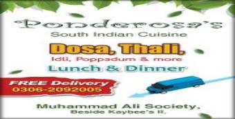 Ponderosa Restaurant Karachi